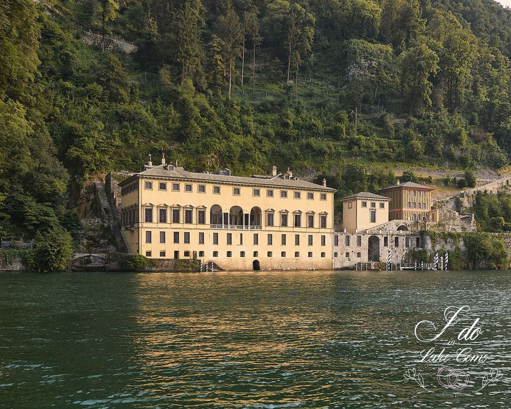 Villa Pliniana wedding venue on lake Como